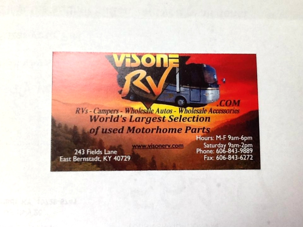 Visone RV WildCat Off-Road Park