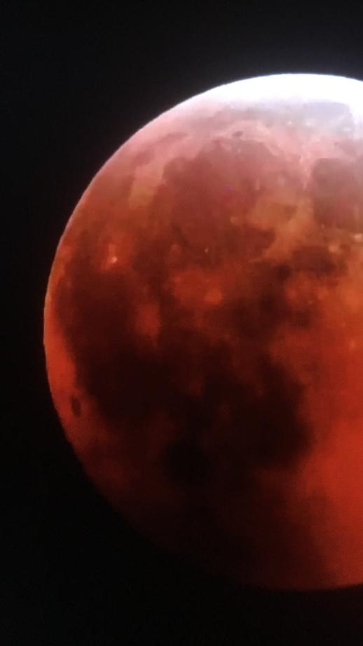 Lunar Eclipse 2019 Kentucky  WildCat Off-Road Park